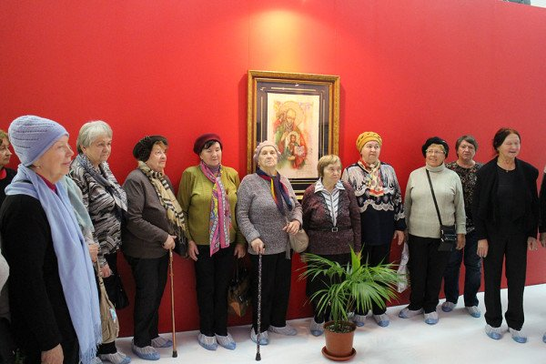 Charity tour in the museum