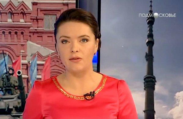 """莫斯科郊外电视台,""""新闻""""节目。2012年11月5日"""