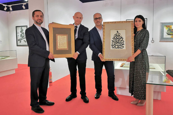 Contemporary Museum of Calligraphy will introduce for the first time new artworks of the Iranian calligrapher Mr Naser Tawoosi on the 7th of September