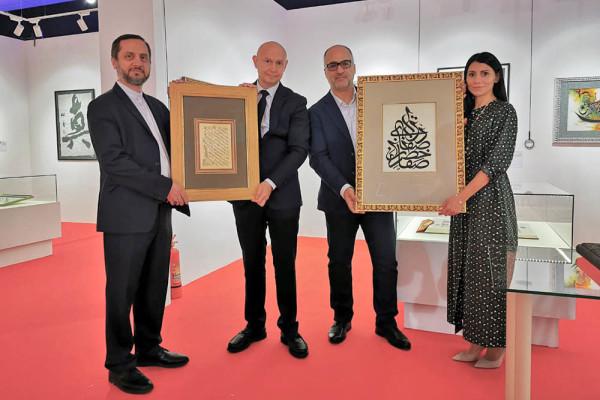 现代书法博物馆将于2019年9月7日首次展出伊朗书法家纳赛尔•塔武什的新作