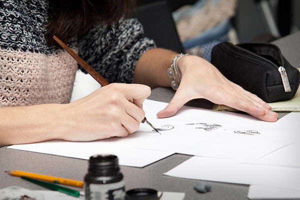 New Enrollment to the Calligraphy School