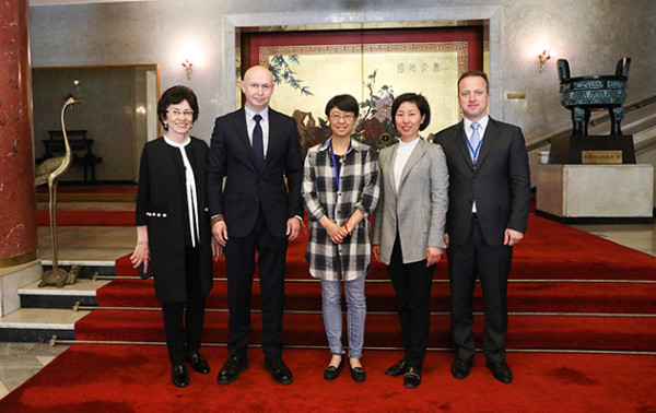 Alexey Shaburov met with Gong Jiajia, Cultural Advisor of the Embassy of the People's Republic of China