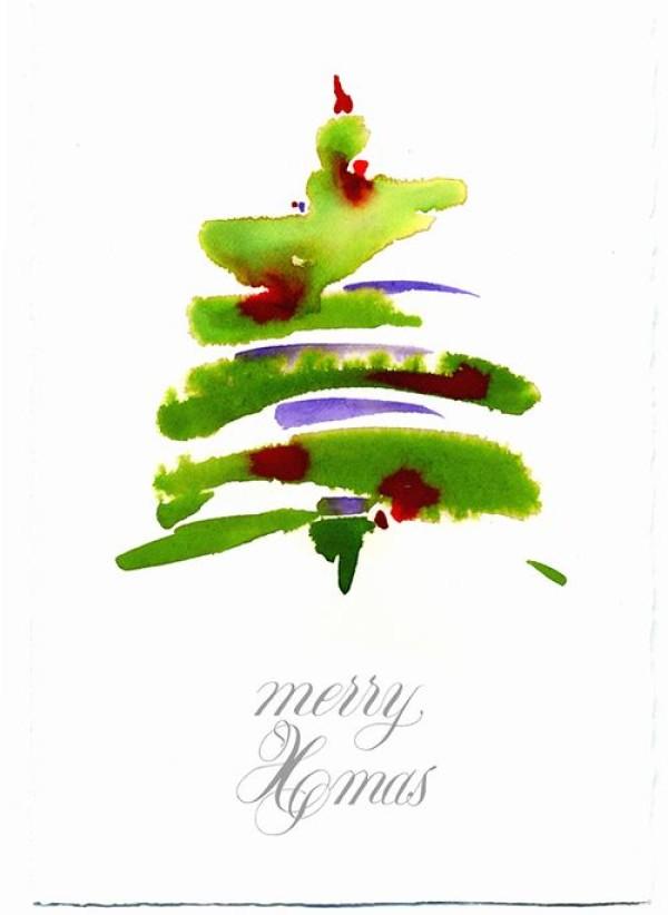 С Новым годом! Каллиграфические поздравления со всего света