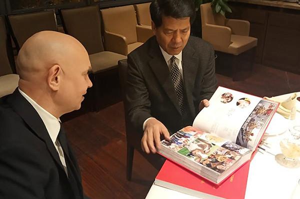 Директор Современного музея каллиграфии встретился со специальным представителем правительства КНР по делам Евразии Ли Хуэем