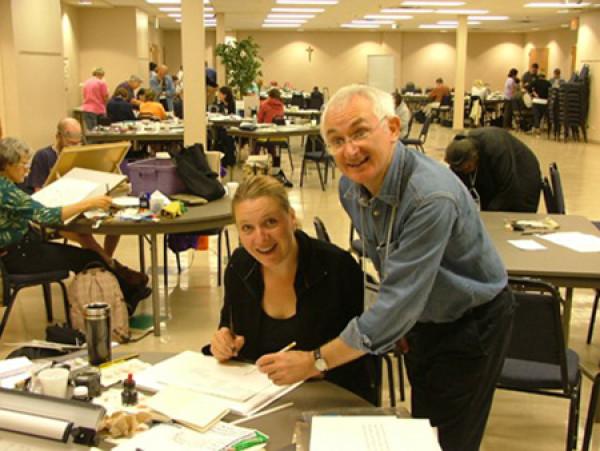Письма соединяют души — Международная конференция каллиграфии — Чикаго
