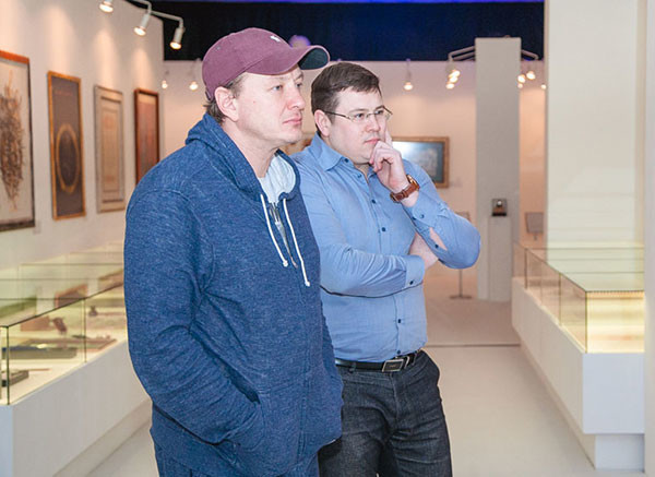 Marat Basharov visited the Modern museum of calligraphy