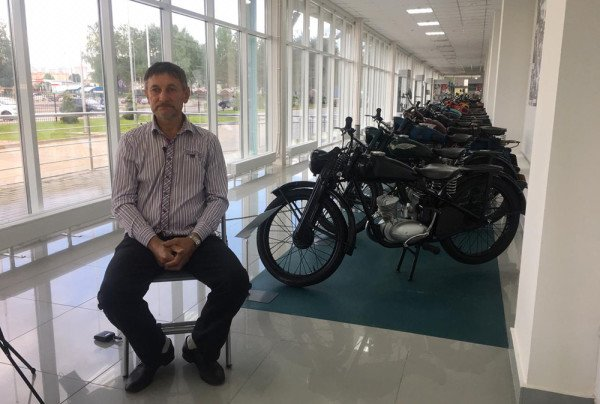 Expedition visits Kovrov Museum of Motorcycles