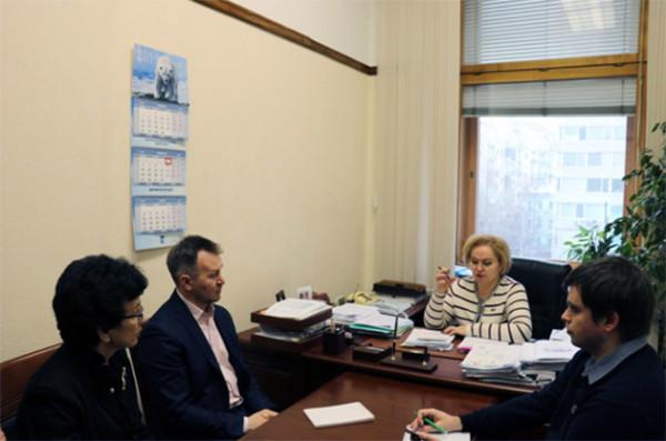 В Госдуме состоялась встреча команды музея с Любовью Духаниной