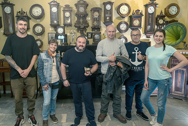 "Private museums expedition team visited ""Muzyka I Vremya"" museum in Yaroslavl"