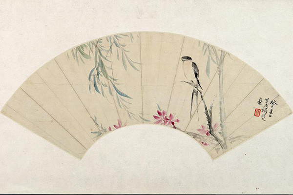 Exhibition eulogizes the ancient art of fan painting