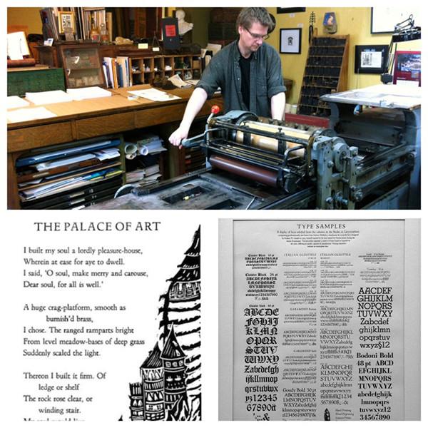 加拿大艺术工作室书法和书籍印刷大师班