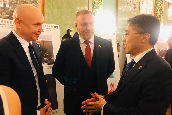 Alexey Shaburov attended gala reception in Chinese embassy to Russia