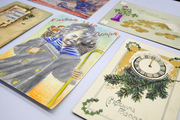 28 декабря в Современном музее каллиграфии откроется выставка старинных рукописных новогодних открыток
