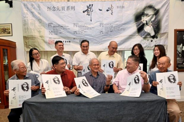 Выставка работ китайского мастера каллиграфии