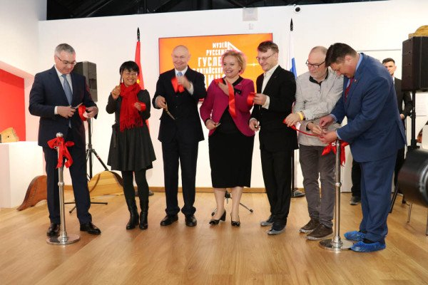 Opening of the Museum of Russian Gusli and Chinese Guqin in the Sokolniki Museum and Educational Complex