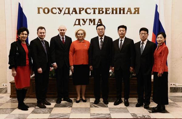 ВГосударственной Думе состоялся прием дляделегатов Всекитайской ассоциации каллиграфов «Жесткие перья»