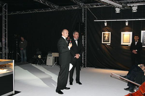 Состоялась  торжественная  презентация Международной выставки каллиграфии
