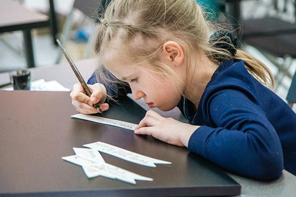 В музее каллиграфии прошел интенсив  для детей