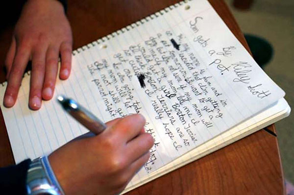 We shouldn't write off handwriting just yet  While keying has become the norm, it lacks personality