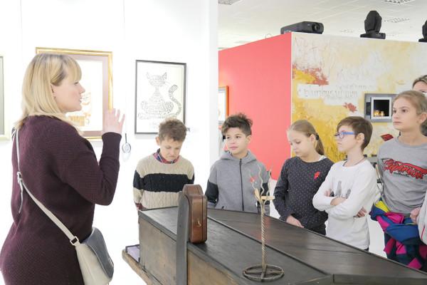 Благотворительная экскурсия в музее каллиграфии