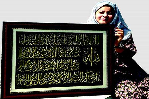 Жительница Сринагара переводит каллиграфию в 3D-модели