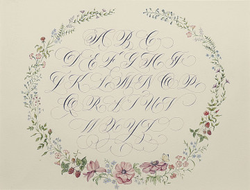 Calligraphy in Nature – Nature in Calligraphy