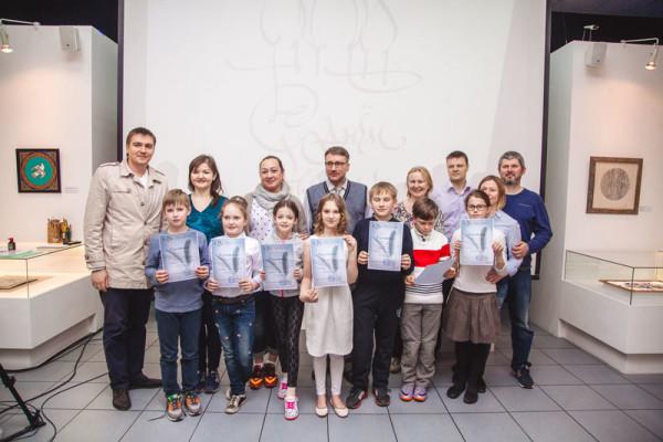 Выпуск детской группы в Национальной школе искусства красивого письма