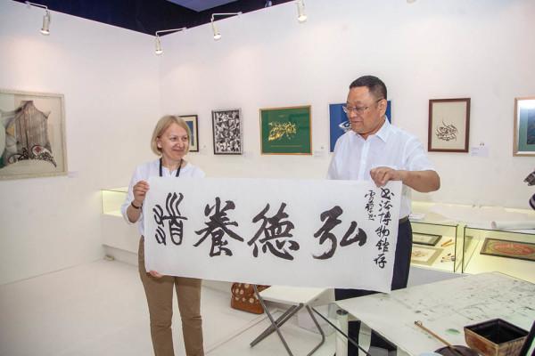 现代书法博物馆举办中国书法大师班活动