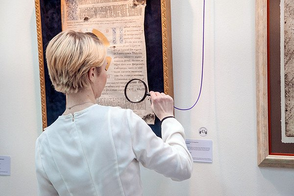 В Современном музее каллиграфии прошли съемки передачи для телеканала «Культура»