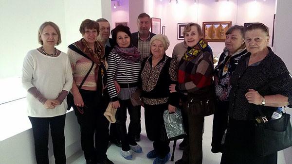 Благотворительная экскурсия вСовременном музее каллиграфии