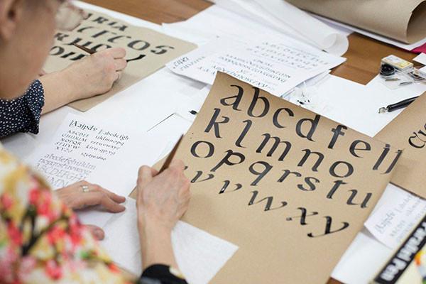 克麦罗沃第一次举办了书法艺术大师班