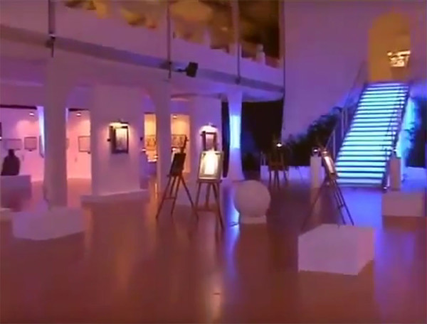 Фильм о II Международной выставке каллиграфии