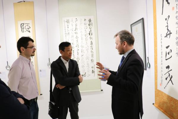 КВЦ «Сокольники» посетил глава регионального представительства авиакомпании China Sоuthern Airlines вРФ