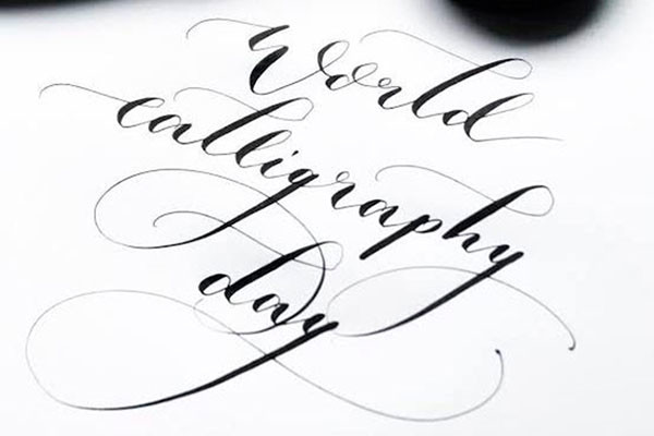 Today is the World Calligraphy Day