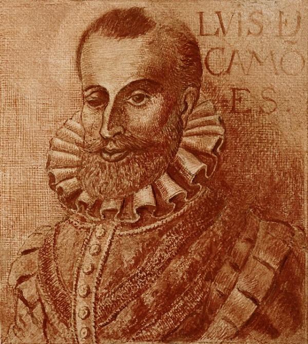 Португальцы переписывают поэму Камоэнса от руки