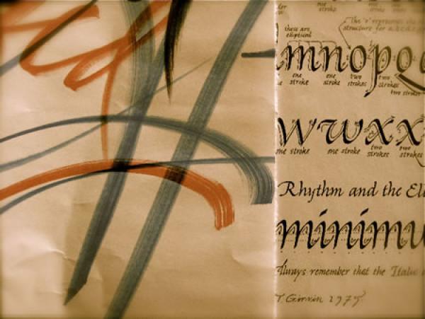 Ллойд Рейнольдс: как формы живут в искусстве. Жизнь каллиграфа за гранью букв