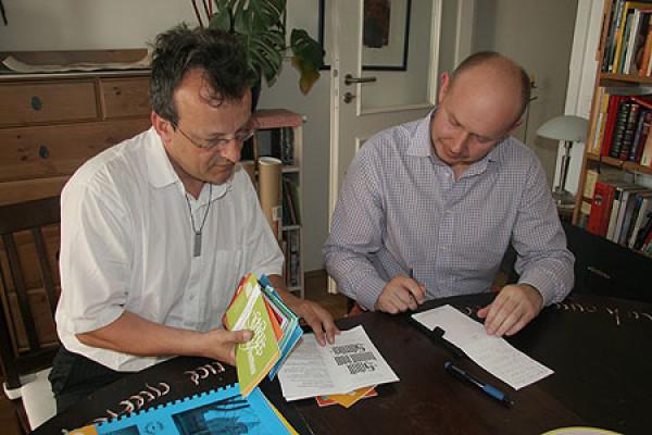 Участие каллиграфов Германии в Международной выставке каллиграфии