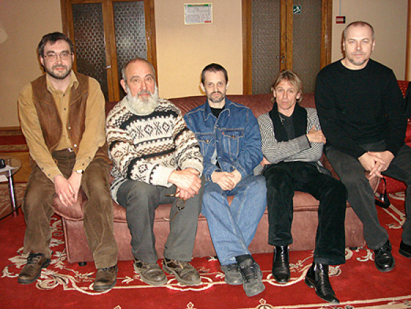 Встреча помощника Алексея Шабурова с белорусскими каллиграфами в Минске