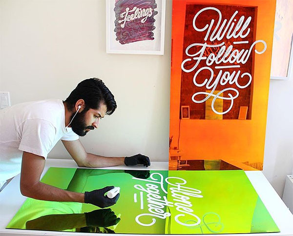 The Vibrant Lettering Work Of This Mexican Artist Is Taking Over Brooklyn