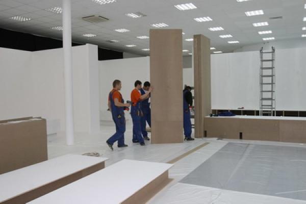 Продолжаются работы в будущем музее