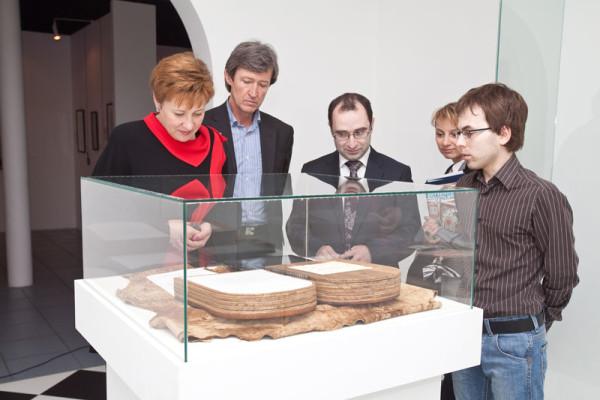 Представители правительства Москвы посетили Современный музей каллиграфии
