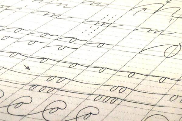 В Школе каллиграфии прошло первое занятие на курсе «Спенсериан»