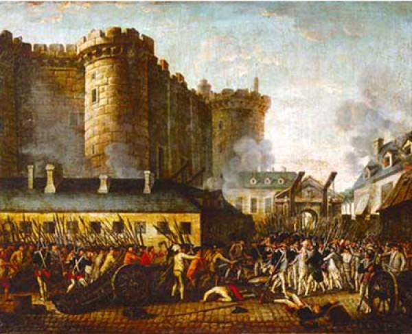 Поздравление с Днём взятия Бастилии!