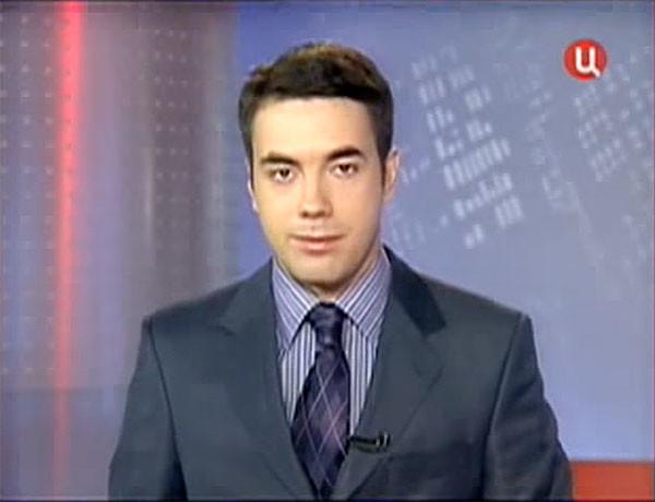 """中心电视台,""""新闻""""节目,2008年9月18日"""