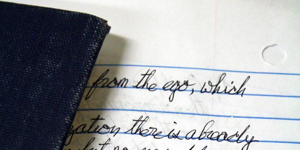 Писать от руки — умение XXI века