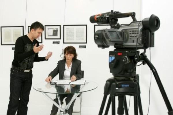 В Современном музее каллиграфии прошли съёмки экспертного интервью для документального фильма