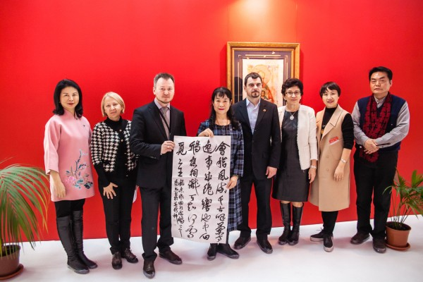 Гости из Китая посетили Современный музей каллиграфии