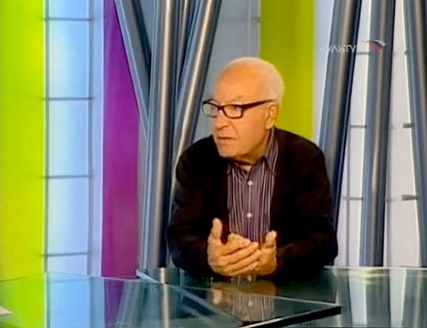 Kultura (Culture) TV channel - interview with Nja Mahdaoui. October 13, 2009