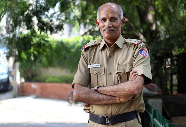 A Delhi Police sub-inspector who has made a world record in calligraphy writing