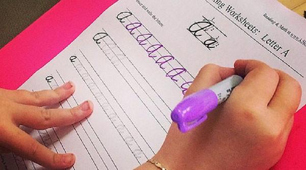 В школах Нью-Йорка снова введут урок каллиграфии и скорописи